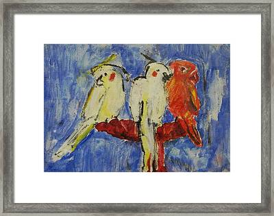 Pure Framed Print by Iris Gill