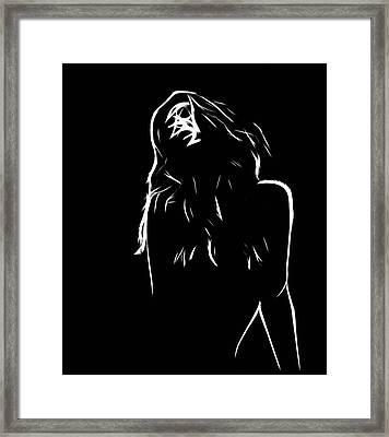 Pure Lust Framed Print by Steve K