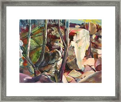 Purgatory Chasm Framed Print by Sid Solomon