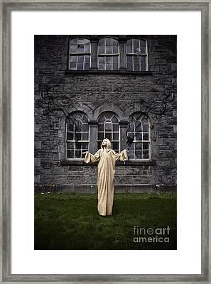 Purgatory Framed Print by MrsRedhead Olga