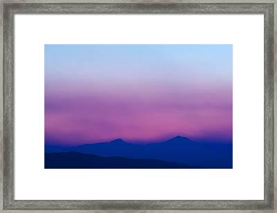 Purple Haze Framed Print by Kevin Bone