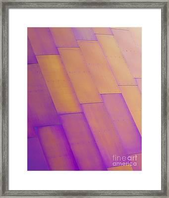 Purple Orange I Framed Print by Chris Dutton