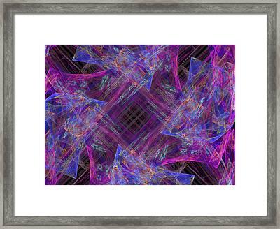 Purples II Framed Print by Ricky Barnard