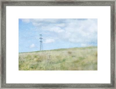 Pylon Framed Print by Jill Ferry
