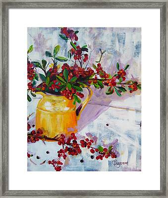 Pyracatha Pitcher Picture Framed Print by Suzanne Willis