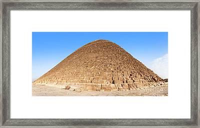 Pyramid Giza. Framed Print by Jane Rix