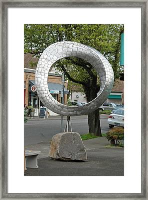 Q Mobius Framed Print by Ben Dye