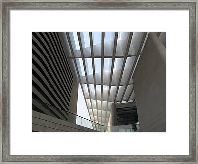 Qingdao Theatre Framed Print by Alfred Ng