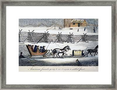 Quakers Framed Print by Granger
