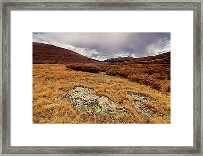Quanella Pass Framed Print by Dragonfly 7