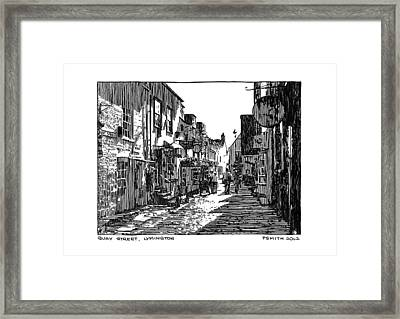 Quay Street Lymington Framed Print by Peter Smith