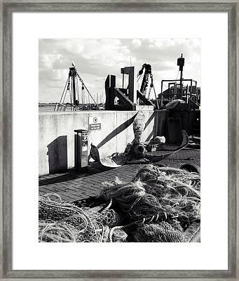 Quayside Framed Print by Sharon Lisa Clarke