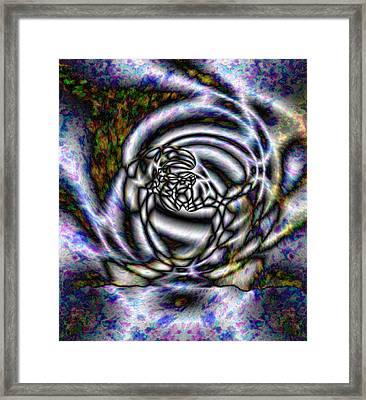 Quazar Storm Framed Print by Christopher Gaston