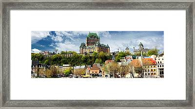 Quebec City Framed Print by Photography Art