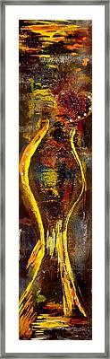Queen Of He-art Framed Print by Artista Elisabet