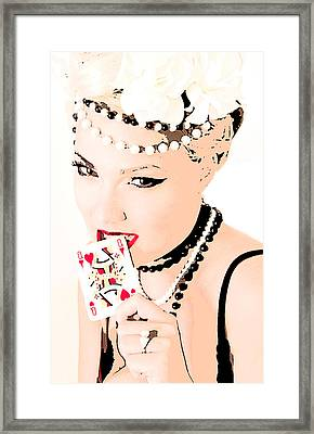 Queen Of Queens Framed Print by Tbone Oliver