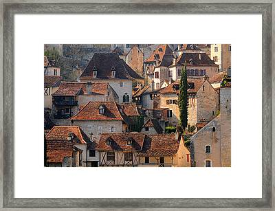 Quercy Framed Print by Copyrights by Sigfrid López