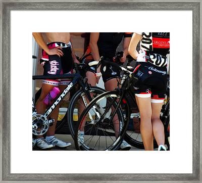 Race Afterglow Framed Print by Steven  Digman