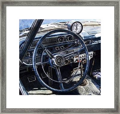 Race Ready Framed Print by Peter Chilelli