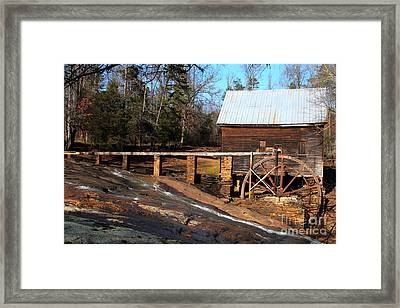 Ragsdale Mill Framed Print by Rick Mann