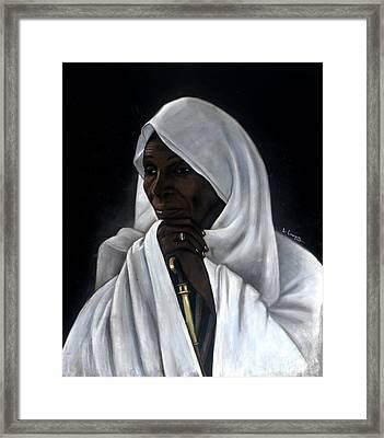 Rahab Framed Print by L Cooper