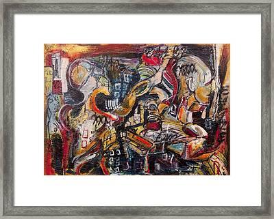 Raidial Obscure  Framed Print by Jon Baldwin  Art