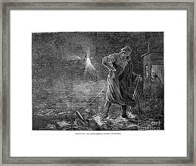 Railroad Accidents, 1873 Framed Print by Granger