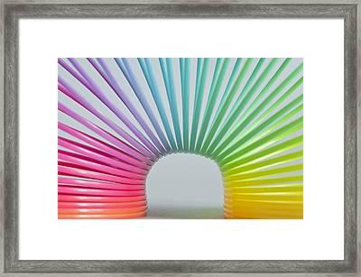 Rainbow 2 Framed Print by Steve Purnell