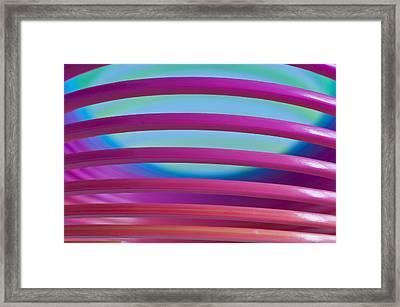 Rainbow 4 Framed Print by Steve Purnell