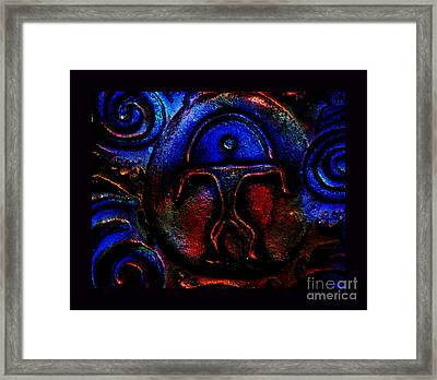 Rainbow Man Framed Print by Susanne Still