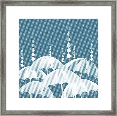 Rainy Day Framed Print by HD Connelly
