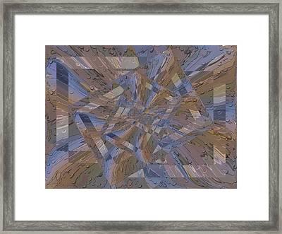 Rainy Day Portal 3 Framed Print by Tim Allen