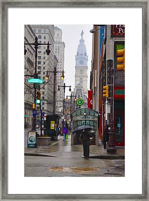 Rainy Days And Sundays Framed Print by Bill Cannon