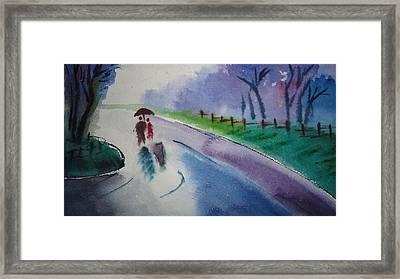Rainy Season Framed Print by Vijayendra Bapte