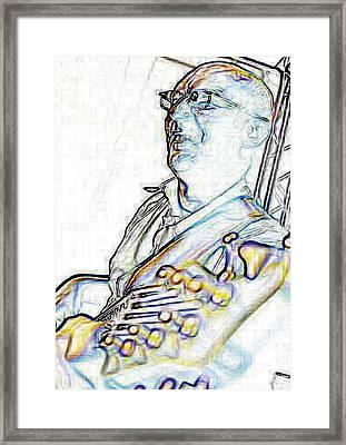 Ralf Lightening - High Key Framed Print by Nafets Nuarb