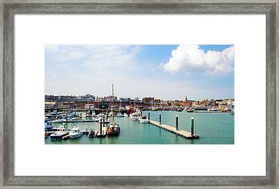 Ramsgate Marina Framed Print by Michael Stretton