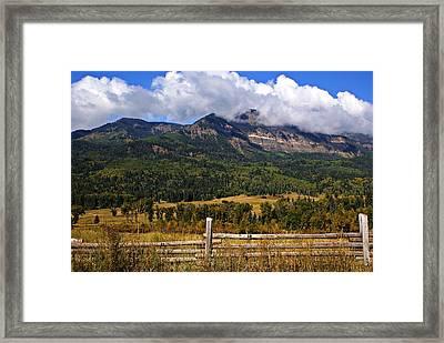 Ranchland Framed Print by Marty Koch