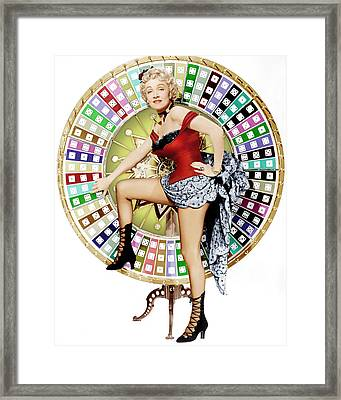 Rancho Notorious, Marlene Dietrich, 1952 Framed Print by Everett