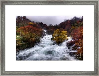 Rapid Waters Framed Print by Carlos Caetano