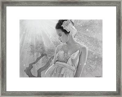 Rapture In The Light Framed Print by Tim Dangaran