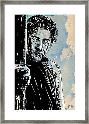 Ratso Rizzo Framed Print by Giuseppe Cristiano