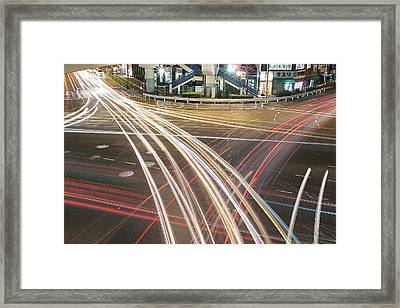 Rays Of Light Framed Print by HB photo