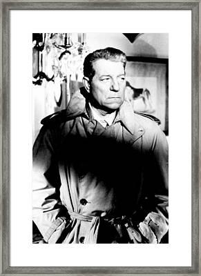Razzia Sur La Chnouf, Jean Gabin, 1955 Framed Print by Everett