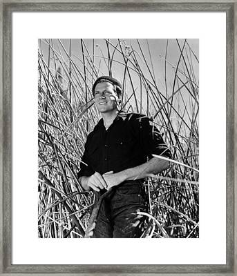 Reaching For The Sun, Joel Mccrea, 1941 Framed Print by Everett