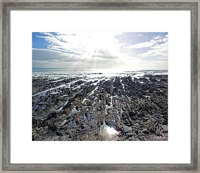 Reaching Framed Print by Michael Durst
