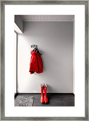 Ready For Rain Framed Print by Ari Salmela