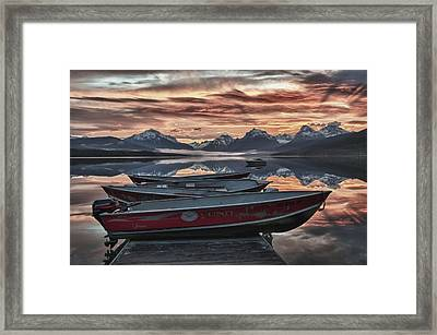Ready To Launch Framed Print by Jay Seeley