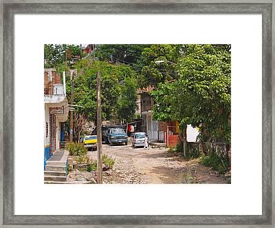 Real Mexico Framed Print by Joe Fernandez