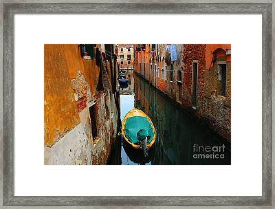 Reason To Return Framed Print by Bob Christopher