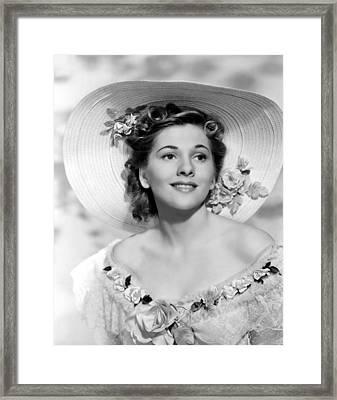 Rebecca, Joan Fontaine, 1940 Framed Print by Everett